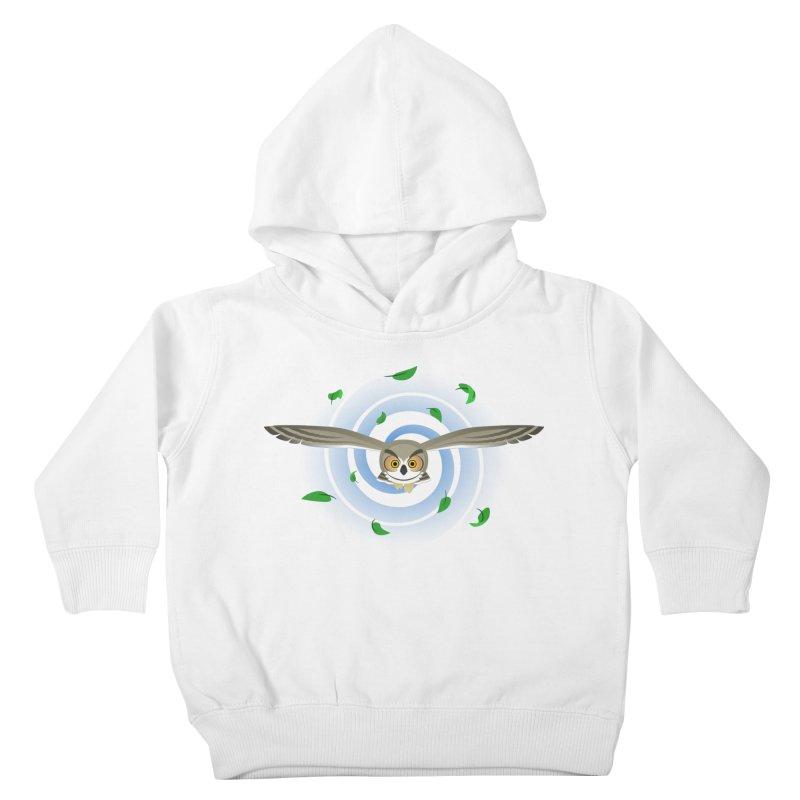 Wind Owl Kids Toddler Pullover Hoody by Designs by WoollyRex