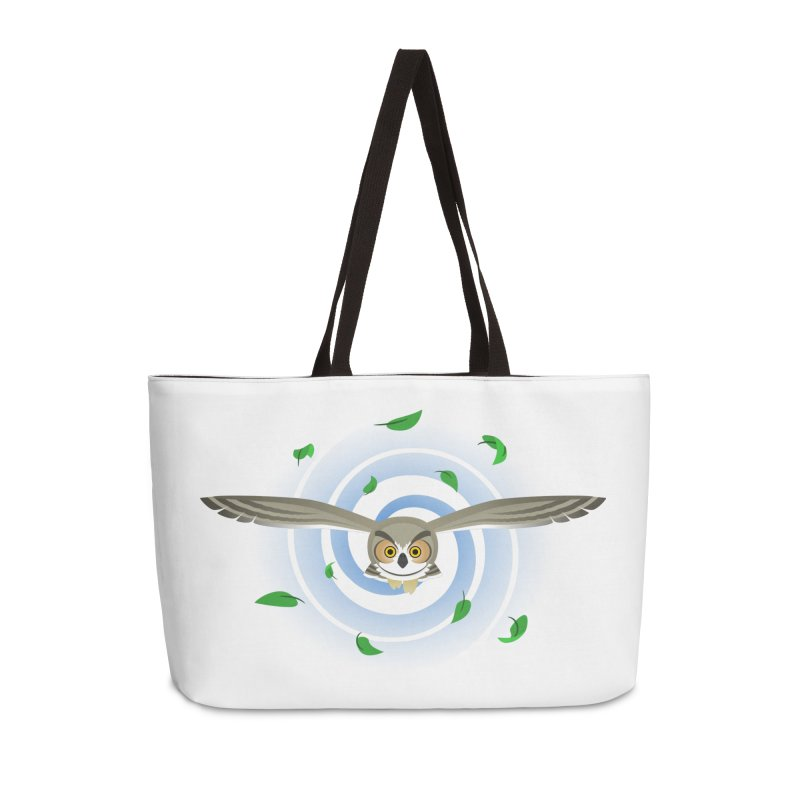 Wind Owl Accessories Weekender Bag Bag by Designs by WoollyRex