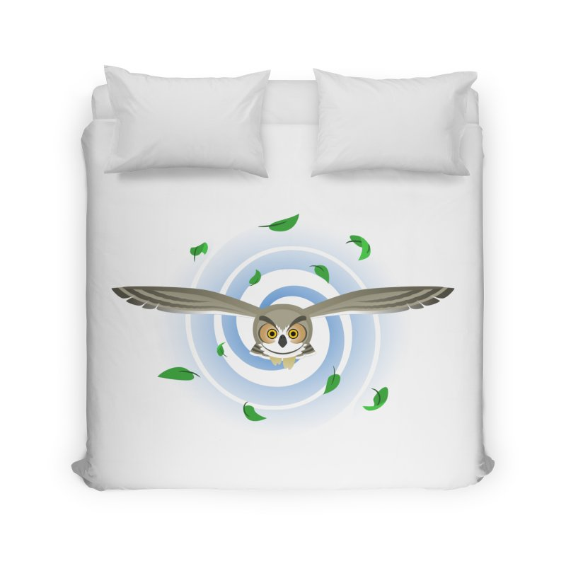 Wind Owl Home Duvet by Designs by WoollyRex