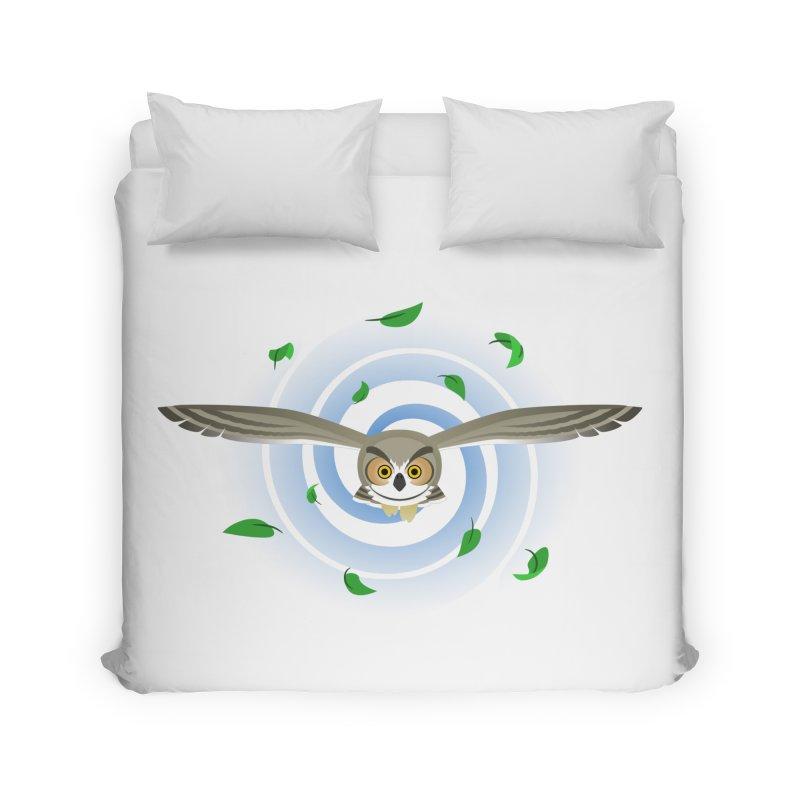 Wind Owl Home Duvet by Designs by WoollyRex