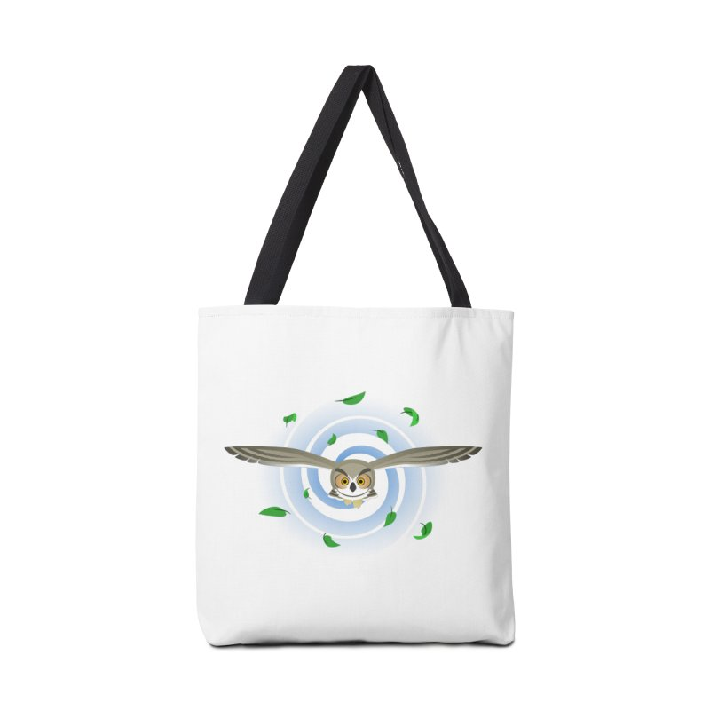 Wind Owl Accessories Tote Bag Bag by Designs by WoollyRex
