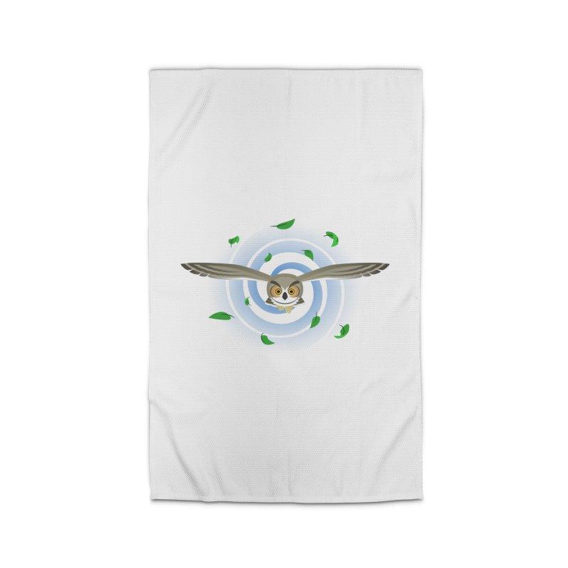 Wind Owl Home Rug by Designs by WoollyRex