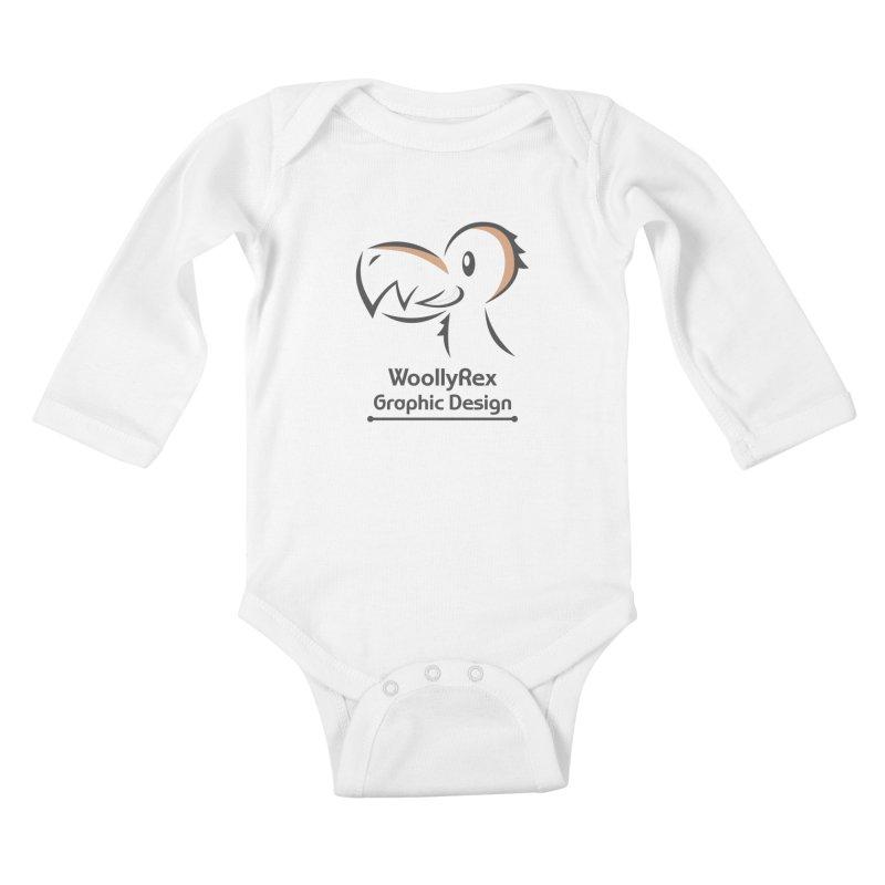 WoollyRex Kids Baby Longsleeve Bodysuit by Designs by WoollyRex