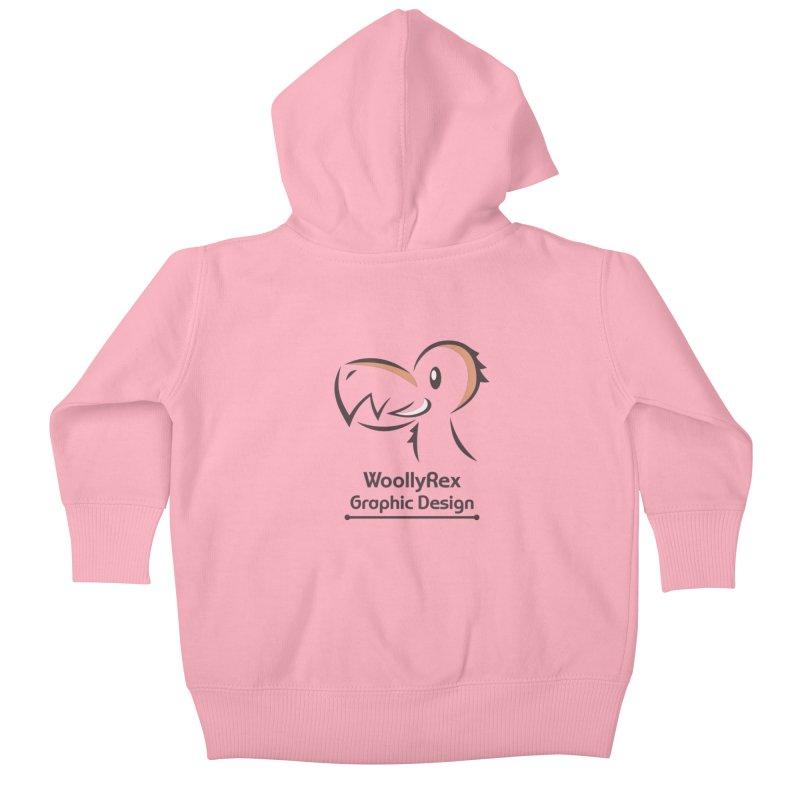 WoollyRex Kids Baby Zip-Up Hoody by Designs by WoollyRex