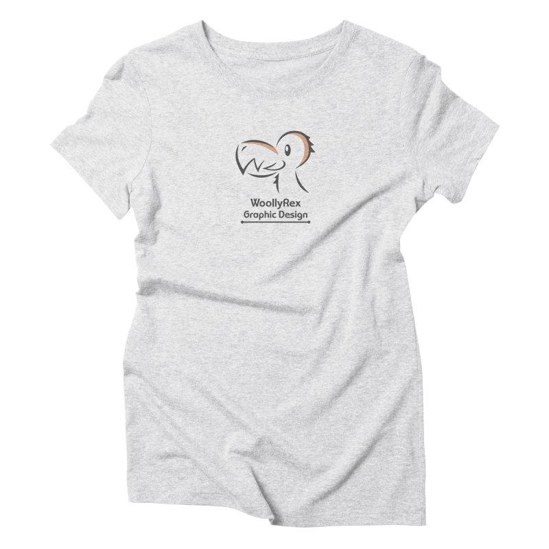 WoollyRex Women's Triblend T-Shirt by Designs by WoollyRex
