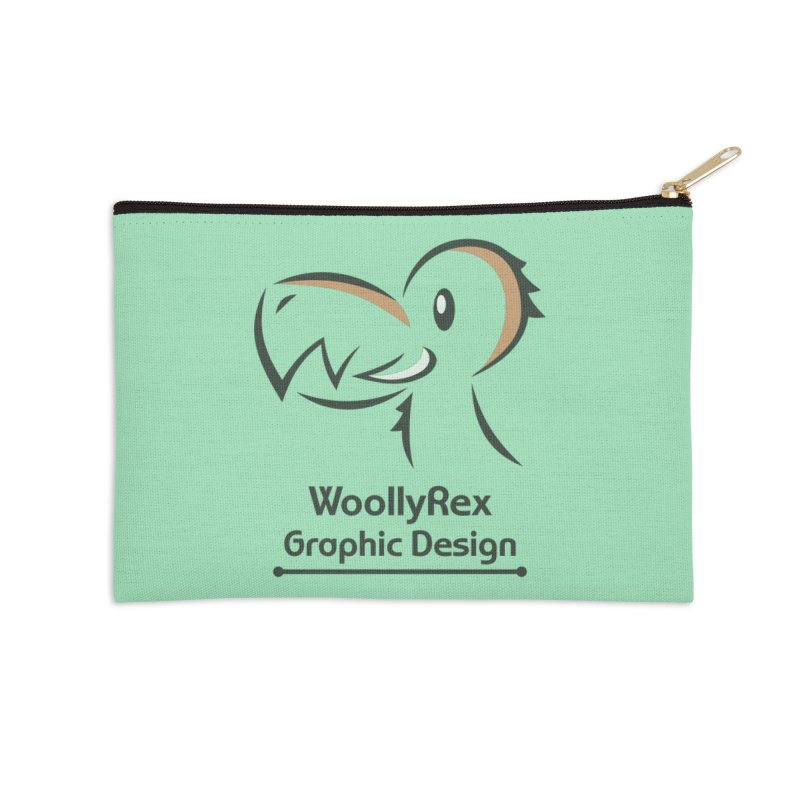 WoollyRex Accessories Zip Pouch by Designs by WoollyRex
