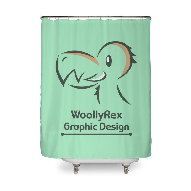 WoollyRex Home Shower Curtain by Designs by WoollyRex
