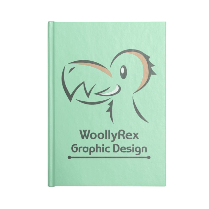 WoollyRex Accessories Lined Journal Notebook by Designs by WoollyRex