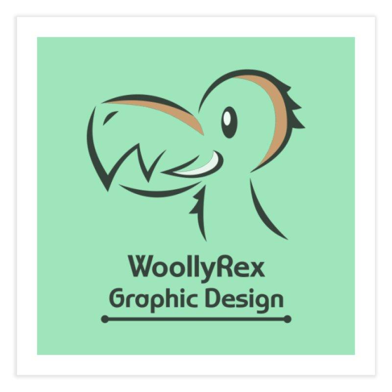 WoollyRex Home Fine Art Print by Designs by WoollyRex