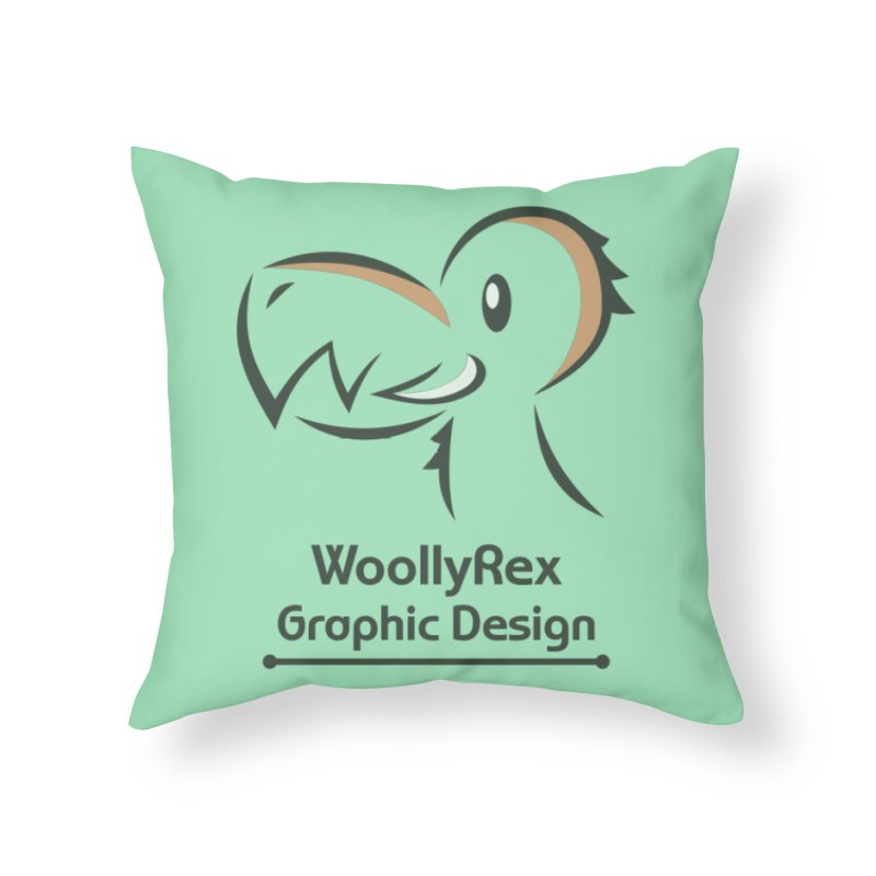 WoollyRex Home Throw Pillow by Designs by WoollyRex
