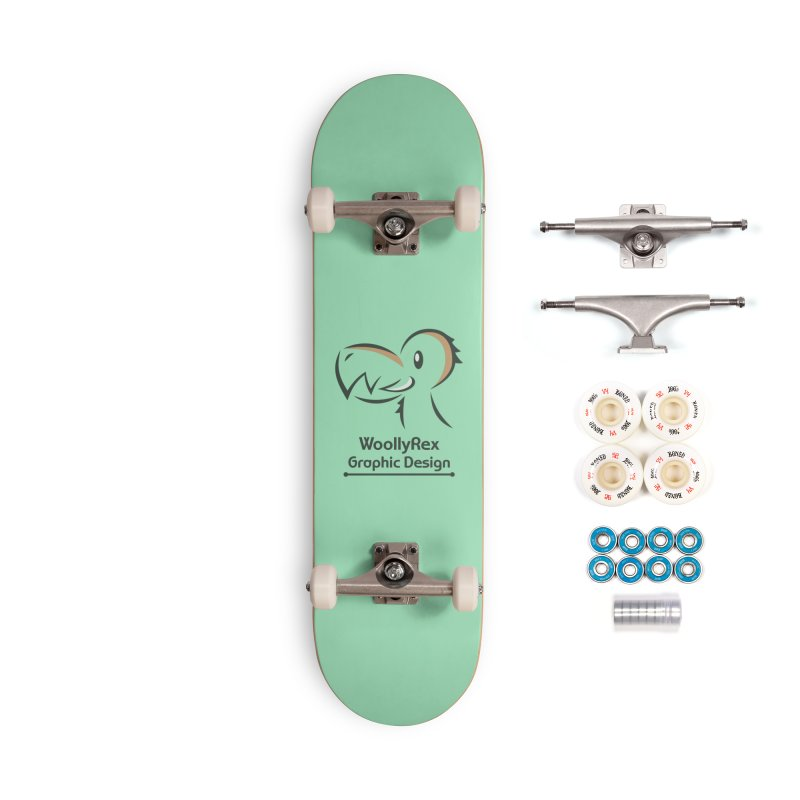 WoollyRex Accessories Complete - Premium Skateboard by Designs by WoollyRex