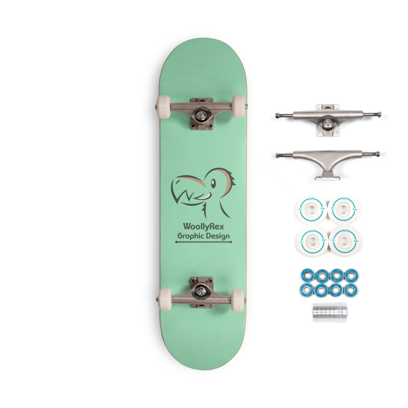 WoollyRex Accessories Complete - Basic Skateboard by Designs by WoollyRex