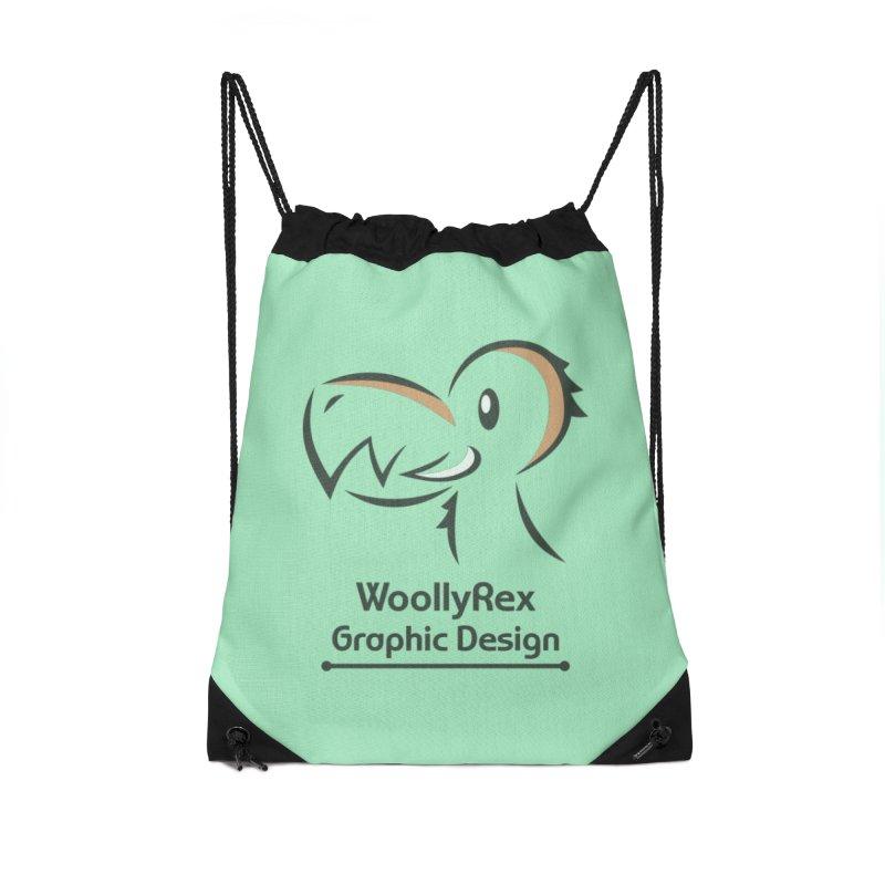 WoollyRex Accessories Drawstring Bag Bag by Designs by WoollyRex