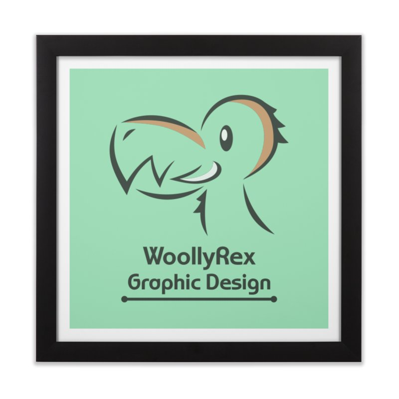 WoollyRex Home Framed Fine Art Print by Designs by WoollyRex