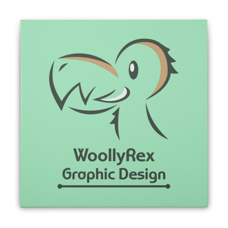WoollyRex Home Stretched Canvas by Designs by WoollyRex