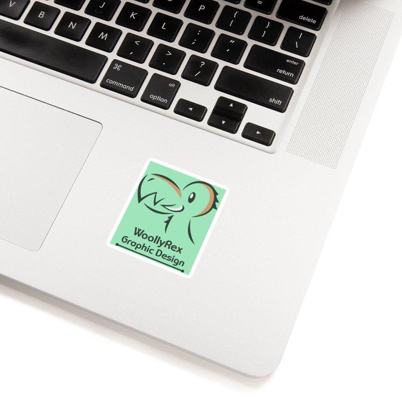 WoollyRex Accessories Sticker by Designs by WoollyRex