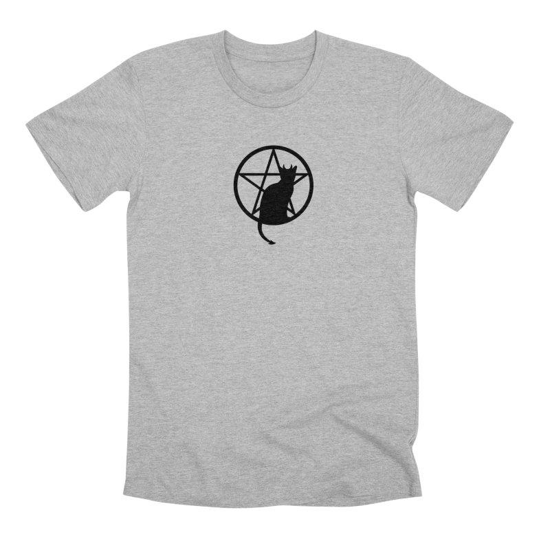 Satan Cat Men's Premium T-Shirt by Designs by WoollyRex