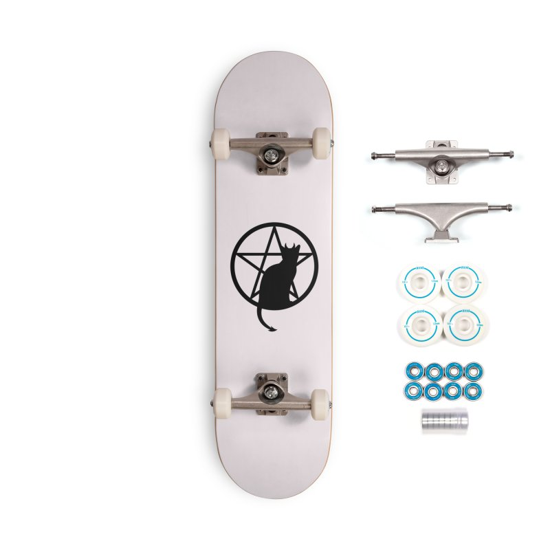 Satan Cat Accessories Complete - Basic Skateboard by Designs by WoollyRex