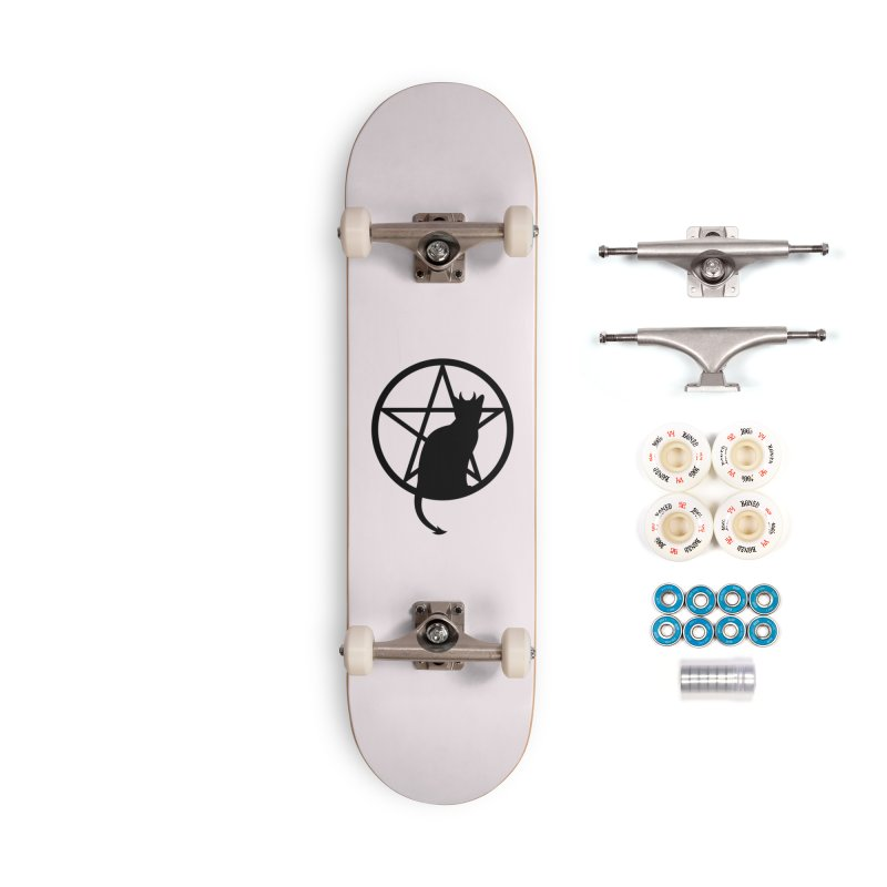 Satan Cat Accessories Complete - Premium Skateboard by Designs by WoollyRex