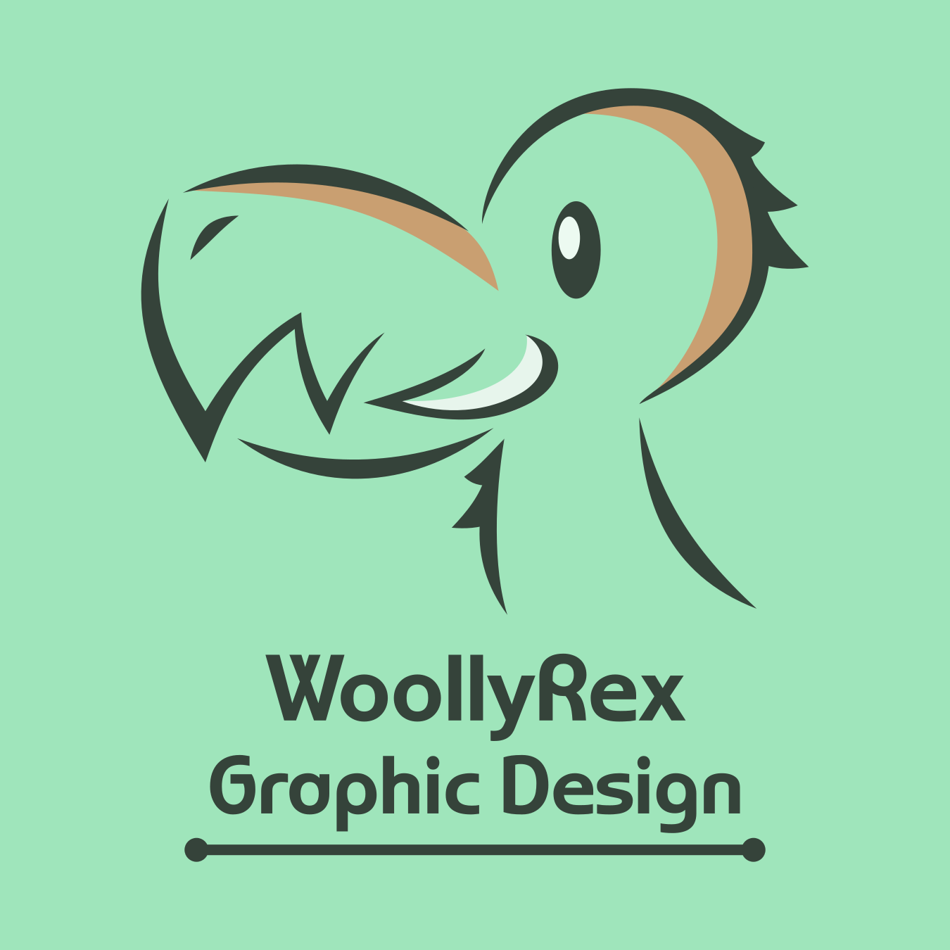 Designs by WoollyRex Logo