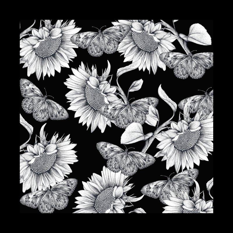 Sunflowers and Butterflies Men's T-Shirt by WukashDesigns Artist Shop