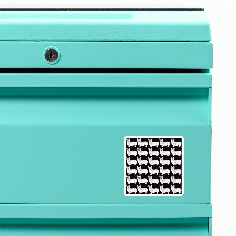 Corgi Dogs Accessories Magnet by WukashDesigns Artist Shop