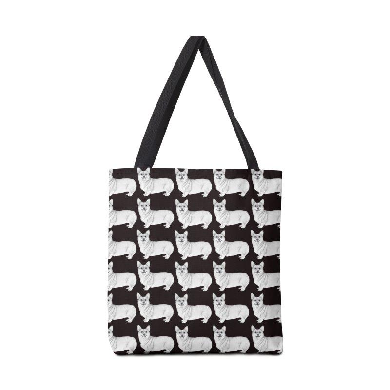 Corgi Dogs Accessories Bag by WukashDesigns Artist Shop