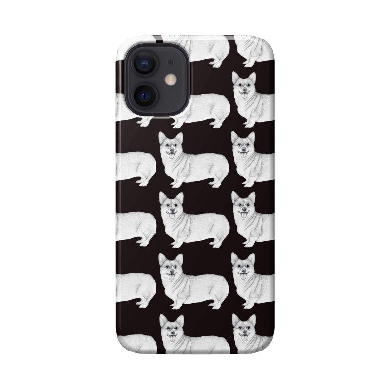 Corgi Dogs Accessories Phone Case by WukashDesigns Artist Shop