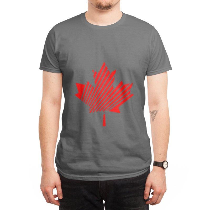 Maple Leaf Men's T-Shirt by WukashDesigns Artist Shop