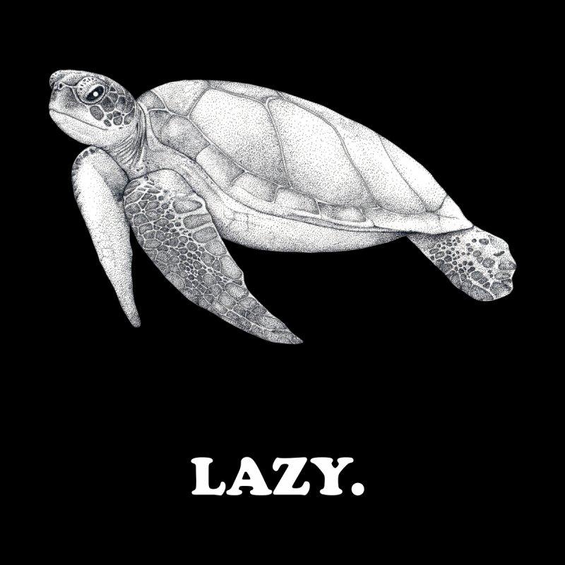 Lazy Turtle Men's T-Shirt by WukashDesigns Artist Shop