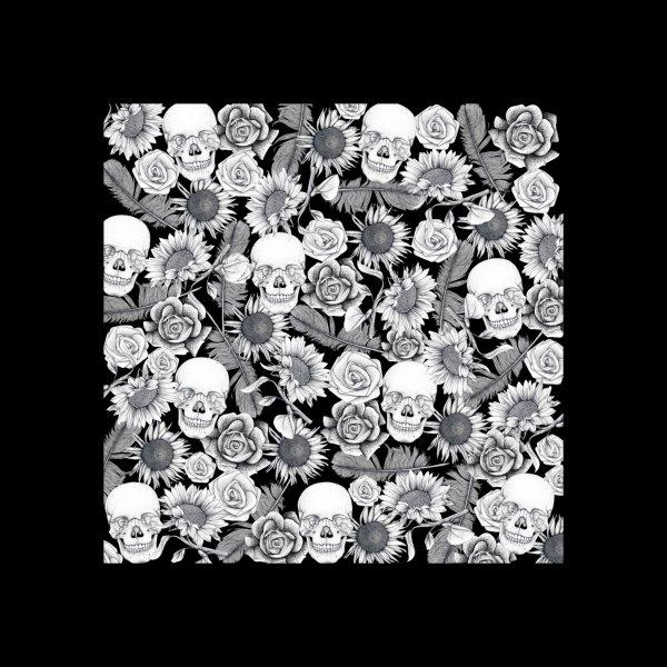 Design for Floral Skull Print