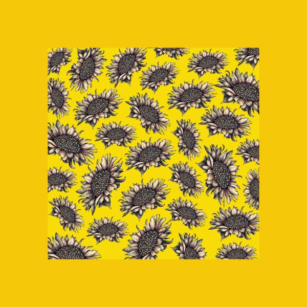 Design for Yellow Sunflowers