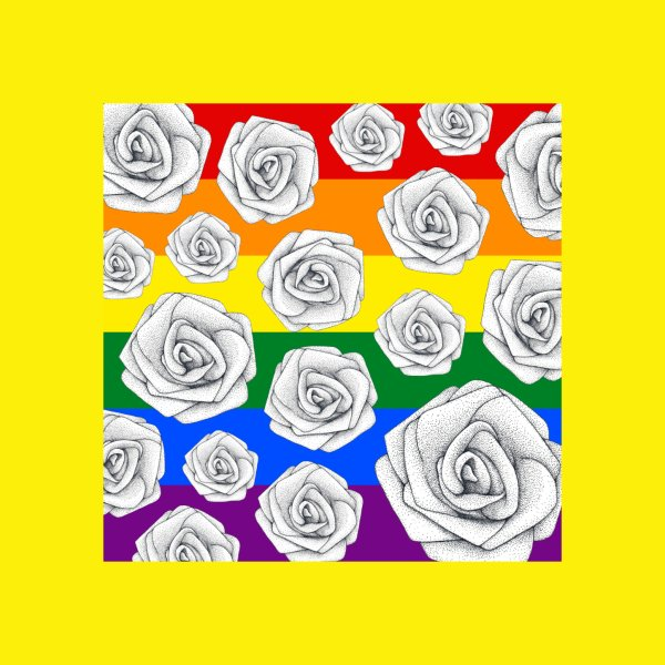 Design for Rainbow Roses