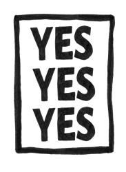 YESYESYES Logo