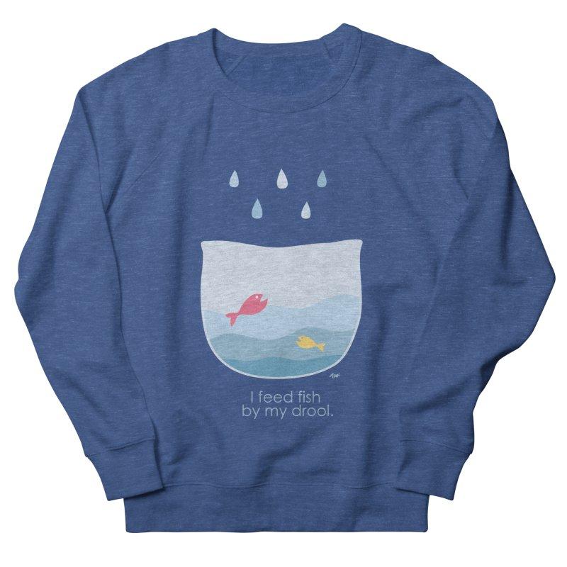 I feed fish by my drool Women's Sweatshirt by YLTsai's Artist Shop