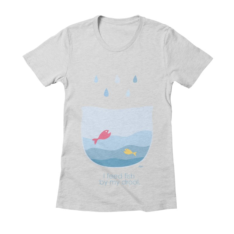 I feed fish by my drool   by YLTsai's Artist Shop