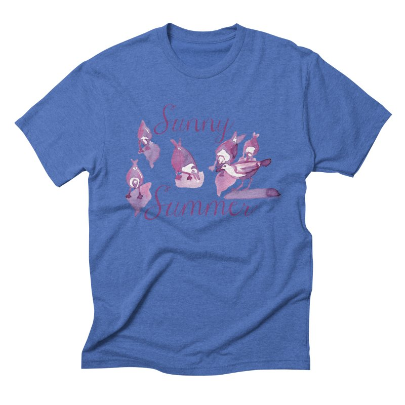 Sunny Summer Men's T-Shirt by Monera