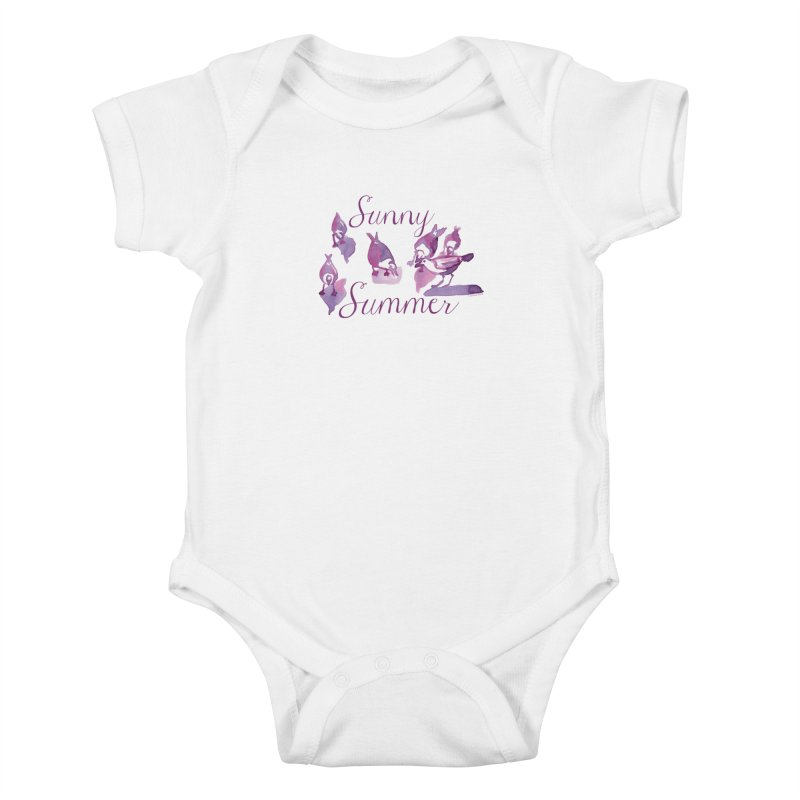 Sunny Summer Kids Baby Bodysuit by Monera