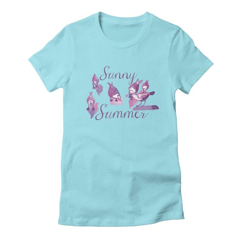 Sunny Summer Women's T-Shirt by Monera