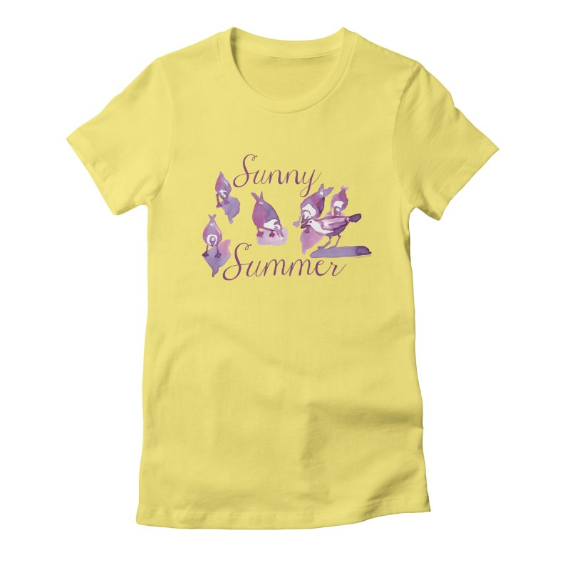 Sunny Summer Women's T-Shirt by Monera