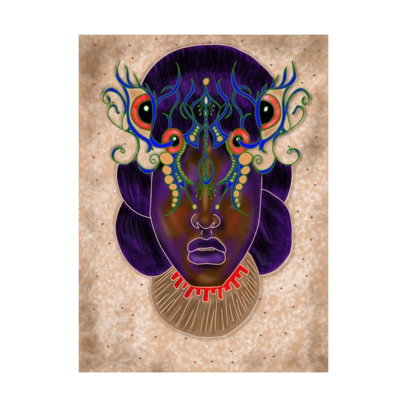 African Mask Digital Painting by YoonekleeDesign's Artist Shop