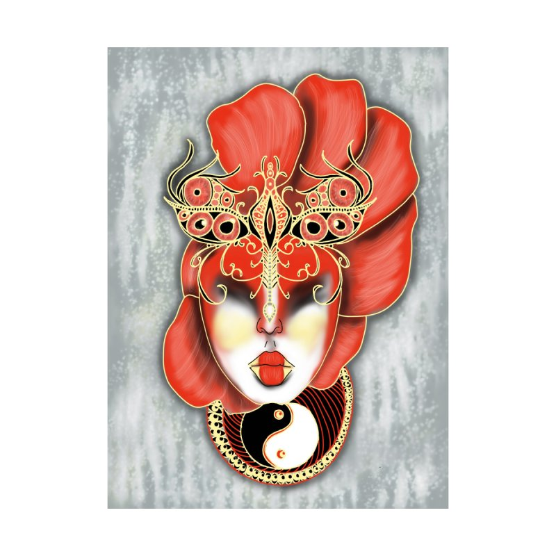 Asian Mask Digital Painting None  by YoonekleeDesign's Artist Shop