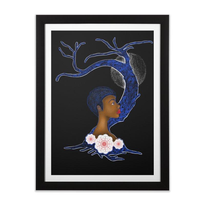 Tree Goddess Home Framed Fine Art Print by YoonekleeDesign's Artist Shop