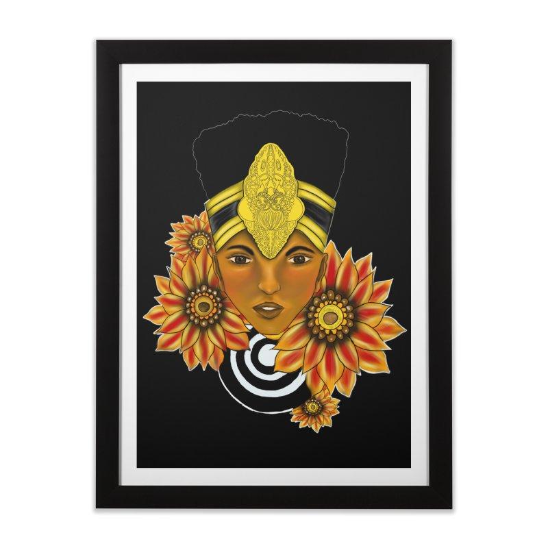 Egyptian Queen Home Framed Fine Art Print by YoonekleeDesign's Artist Shop
