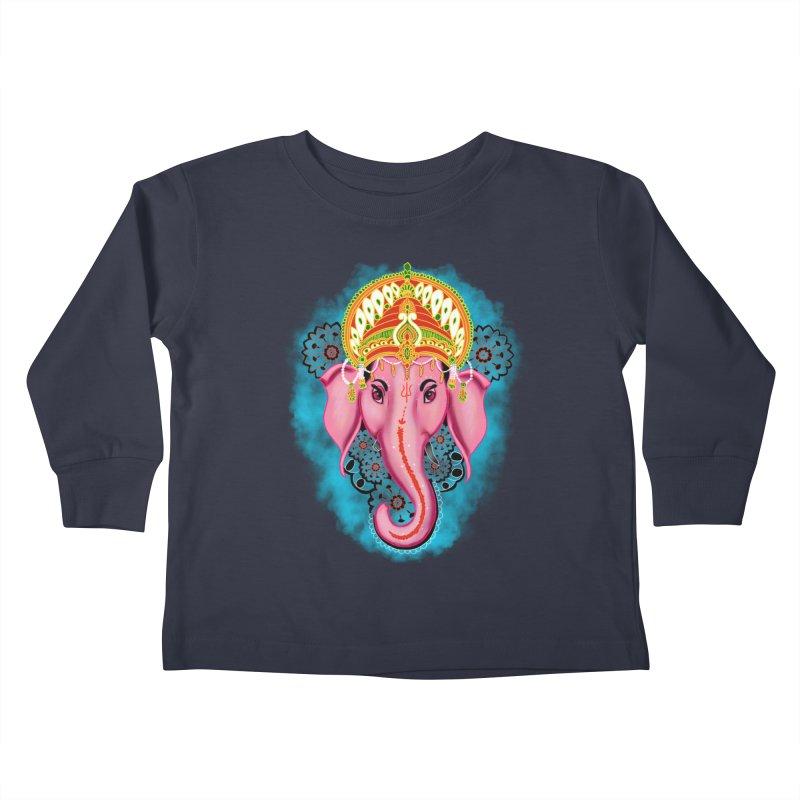 Ganesh Kids Toddler Longsleeve T-Shirt by YoonekleeDesign's Artist Shop