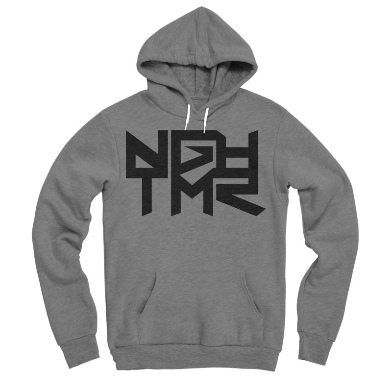 NGHTMR in Men's Sponge Fleece Pullover Hoody Heather Graphite by NGHTMR Clothing