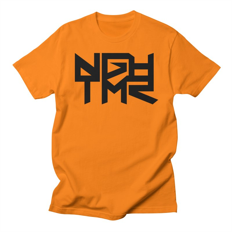 NGHTMR in Men's Regular T-Shirt Orange by NGHTMR Clothing