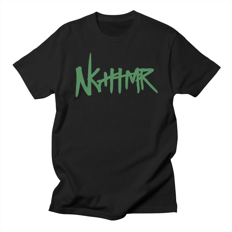 Dreams & NGHTMRs in Men's Regular T-Shirt Black by NGHTMR Clothing