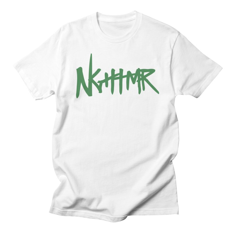 Dreams & NGHTMRs in Men's Regular T-Shirt White by NGHTMR Clothing