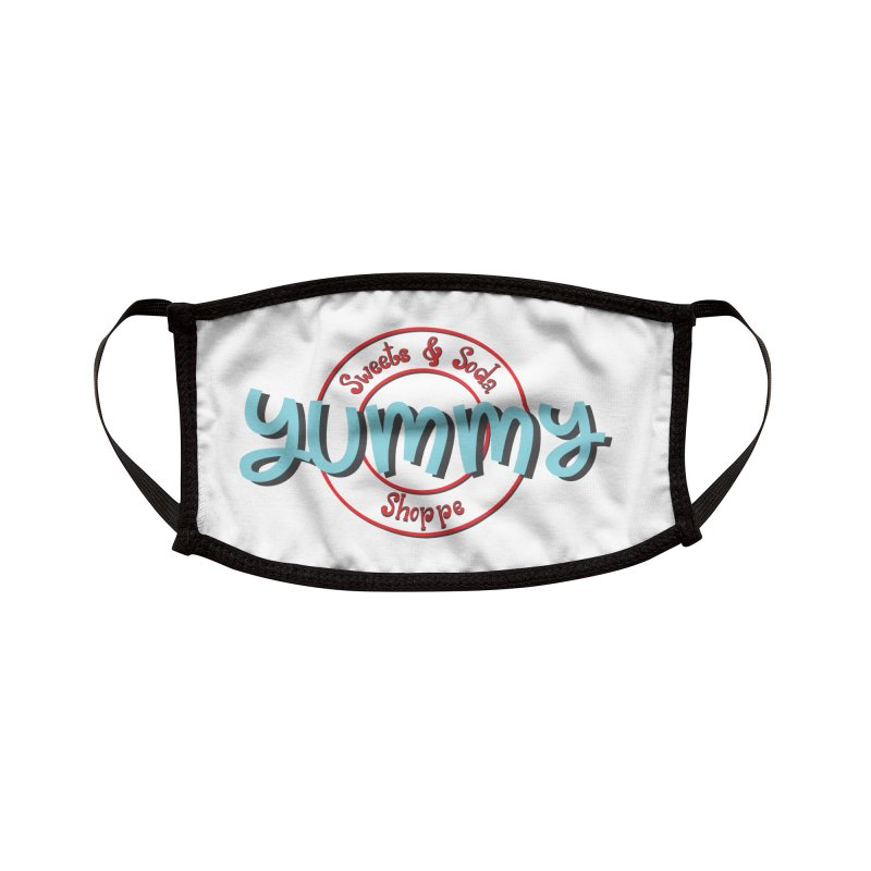 Yummy Sweets and Soda Shoppe Accessories Face Mask by Yummy Sweets and Soda Shoppe Merch!